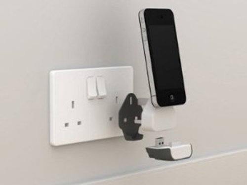 NEW STYLE PORTABLE WALL DOCK CHARGER, WIRELESS STATION ...